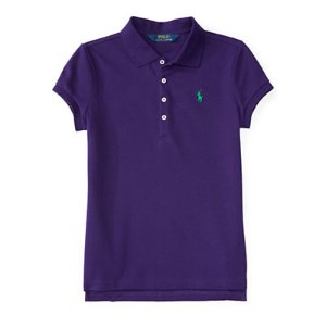 Stretch Cotton Polo Shirt - Short Sleeve � Polo Shirts - RalphLauren.com