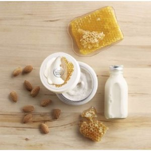 Almond Milk & Honey Gently Exfoliating Cream Scrub | The Body Shop®
