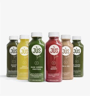 $993 Day Cleanse + 3 Protein Smoothies + Free Cooler Tote @JUS By Julie