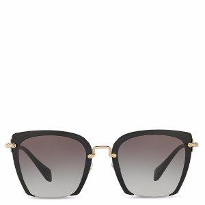 Miu Miu Oversized Square Sunglasses, 54mm | Bloomingdale's