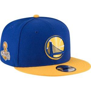 New Era Men's 2017 NBA Champions Golden State Warriors 9Fifty 2-Tone Adjustable Snapback Hat| DICK'S Sporting Goods