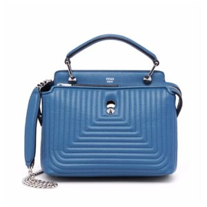Fendi - Dotcom Click Quilted Leather Chain Satchel - saks.com