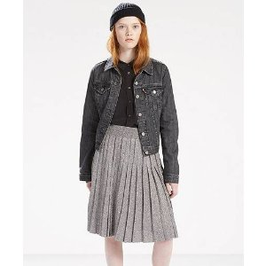 Metallic Sweater Skirt   Gunmetal  Levi's® United States (US)