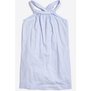 Girls' bow-back dress