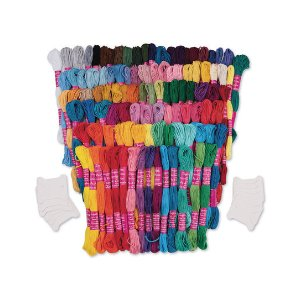 S&S Worldwide Embroidery Cotton Floss Skein Set | zulily