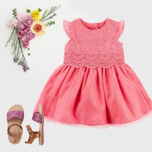 70% Off + Extra 25% off $40Flash Sale! Select Easter Styles @ Carter's