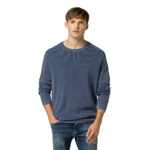 SOLID CREWNECK SWEATER | Tommy Hilfiger