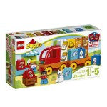 LEGO DUPLO My First Truck 10818, Preschool, Pre-Kindergarten Large Building Block Toys for Toddlers