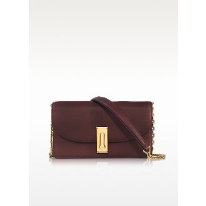 Marc Jacobs West End Rubino Leather Wallet on Chain at FORZIERI