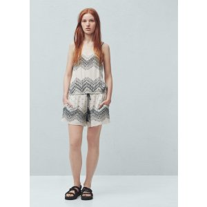 Printed short jumpsuit -  Women | OUTLET USA