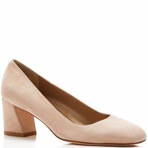 Stuart Weitzman Mary Suede Mid Heel Pumps | Bloomingdale's