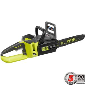 Ryobi 14 in. 40-Volt Brushless Cordless Chainsaw - Battery and Charger Not Included-RY40502B - The Home Depot