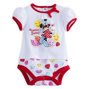 Minnie Mouse ''Always Sweet'' Disney Cuddly Bodysuit for Baby | Disney Store