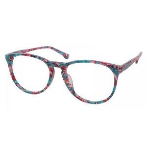 Baton Wayfarer - Multicolour Eyeglasses | GlassesShop.com