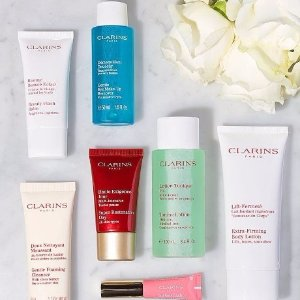 Up to 60% off + Extra 15% OffClarins Beauty Sale @ unineed.com