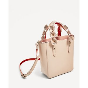 MINI TOTE BAG WITH INTERCHANGEABLE HANDLES - View all-BAGS-WOMAN | ZARA United States