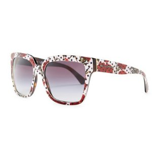 Dolce & Gabbana Women's Enchanted Beauties Oversized Acetate Frame Sunglasses