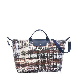 Longchamp Le Pliage Neo Fantaisie Polka Large Duffel | Sands Point Shop