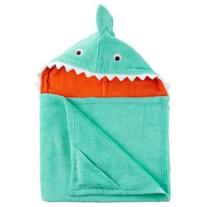 Baby Boy Shark Hooded Towel | Carters.com