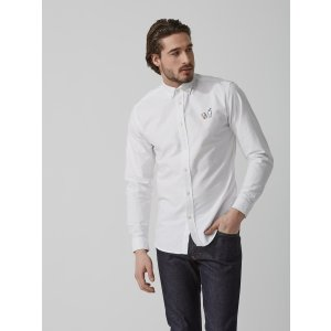 Summer Soda Embroidered Oxford Shirt | Frank And Oak