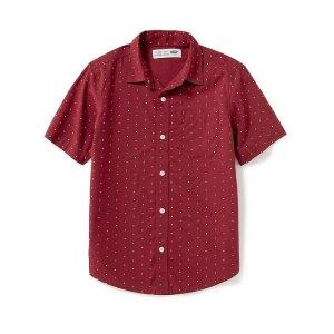 Classic Poplin Shirt for Boys