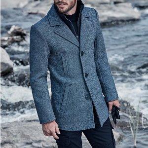 低至4.5折Mackage 秋冬男士外套特卖,不输Moncler 哦