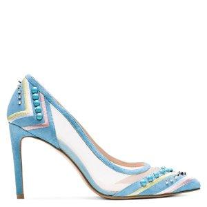 Meshwork Embellished Pumps - Shoes | Shop Stuart Weitzman