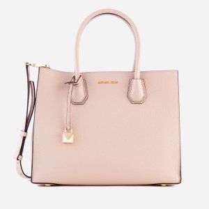 MICHAEL MICHAEL KORS Women's Mercer Large Tote Bag - Soft Pink - Free UK Delivery over £50