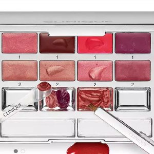 FLASH SALE! 50% offFull-Size Pretty Easy Lip Palette with any purchase @ Clinique