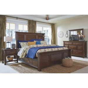 Windville Queen Panel Bed with Storage