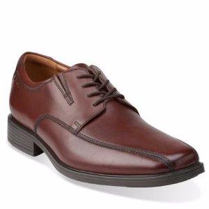 $31.99 ($90.00)Clarks Tiden Walk Men's Leather Shoes Black