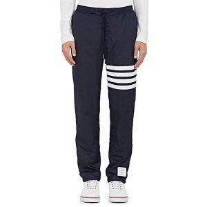 Striped-Leg Track Pants