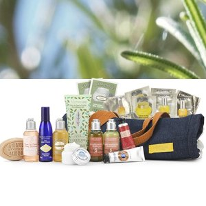 Free Gift Bagwith Any Order @ L'Occitane