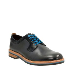 Pitney Walk Dark Blue Leather - Men's Oxford Shoes - Clarks® Shoes Official Site
