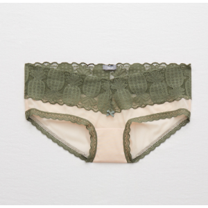 Aerie Mesh Pineapple Trim Boybrief , Olive Fun | Aerie for American Eagle