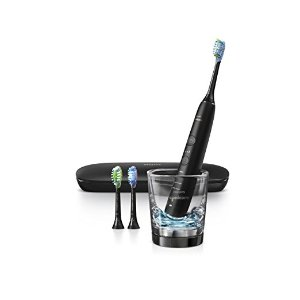 Philips Sonicare DiamondClean Smart Electric Toothbrush with Bluetooth and app - 9300 Series, Black, HX9903/11