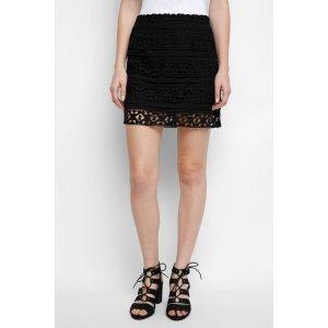 Abbeline Jamaica Lace Mini Skirt   South Moon Under