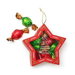 星星吊饰,含10粒巧克力