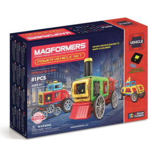 Magformers Power Vehicle Construction Set 81 Pieces