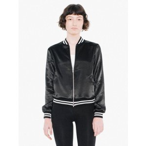 Metallic Bomber | American Apparel
