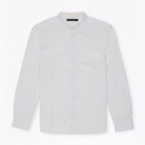 Horizontal Oxford Peach Striped Shirt