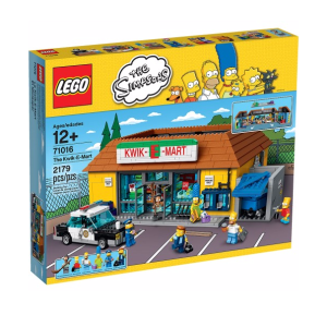 LEGO The Simpsons The Kwik-E-Mart  by LEGO