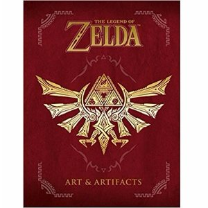 $18.40《The Legend of Zelda: Art & Artifacts 塞尔达传说 原画集》精装英文版