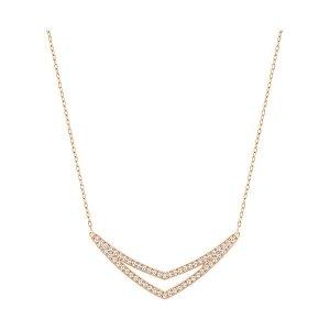 Alpha Medium Necklace - USA - Swarovski Online Shop