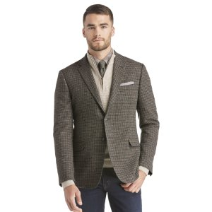 1905 Collection Tailored Fit Check Sportcoat CLEARANCE - Sportcoats | Jos A Bank