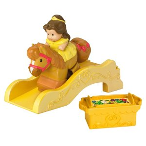 Disney Princess Belle Klip Klop by Little People | Y3715 | Fisher-Price