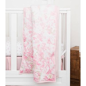 Ombre Blossom Reversible Quilt