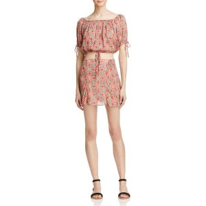 Free People Electric Love Printed Two-Piece Dress | Bloomingdale's