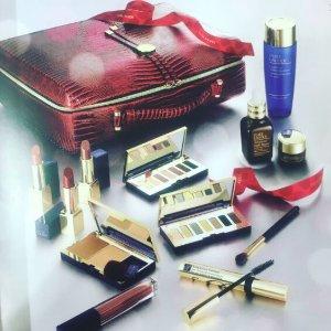$65(价值超$455)Estee Lauder 12个正装节日礼包 包括正装小棕瓶和眼霜