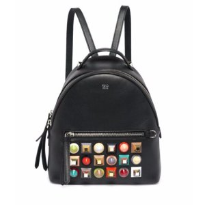 Fendi - Multicolor Studded Leather Backpack - saks.com